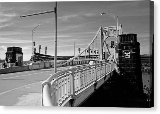Pittsburgh - Roberto Clemente Bridge Canvas Print