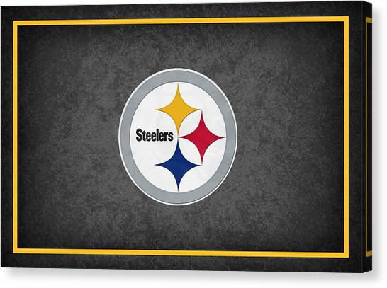 Pittsburgh Steelers Canvas Print - Pittsburgh Steelers by Joe Hamilton