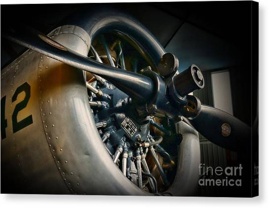 Prop Planes Canvas Print - Plane Propeller  by Paul Ward
