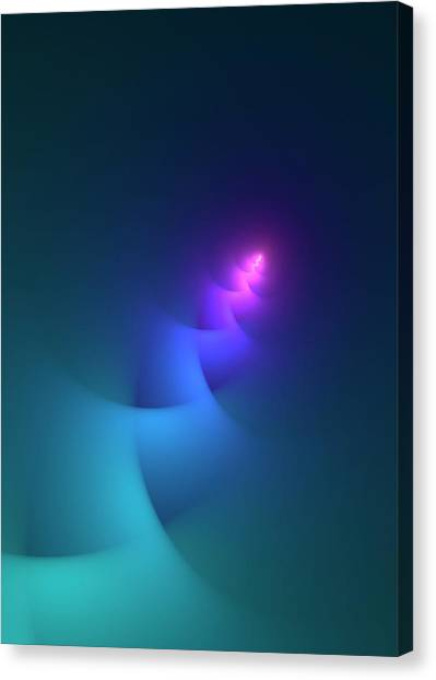 Plasma Physics Illustration Canvas Print by David Parker/science Photo Library