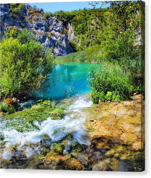 Plitvicka Jezera Canvas Print