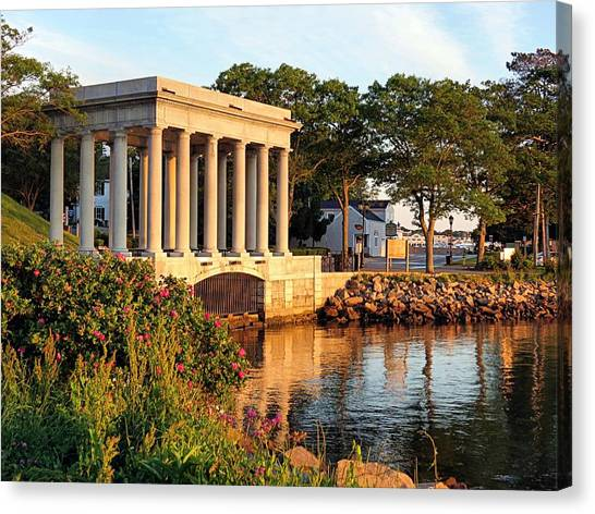 Plymouth Rock Canopy Canvas Print
