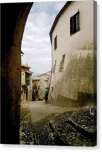 Poggio Catino Italy Canvas Print