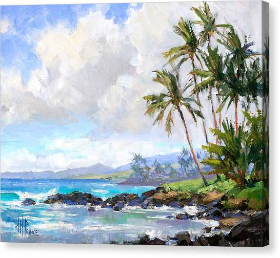 Hawaii Canvas Print - Poipu Beach #1 by Jenifer Prince