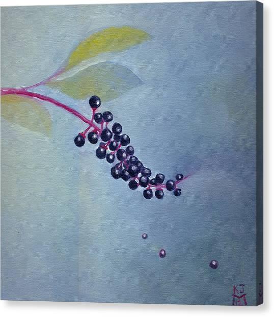 Pokeberries Canvas Print