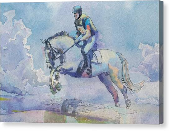Vancouver Canucks Canvas Print - Polo Art by Catf