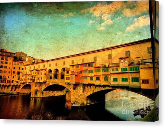 Ponte Vecchio 01 Canvas Print