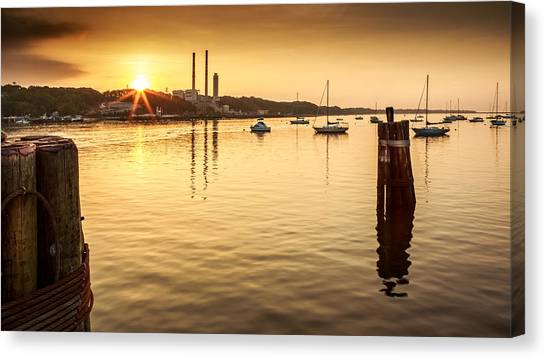 Port Jefferson Canvas Print