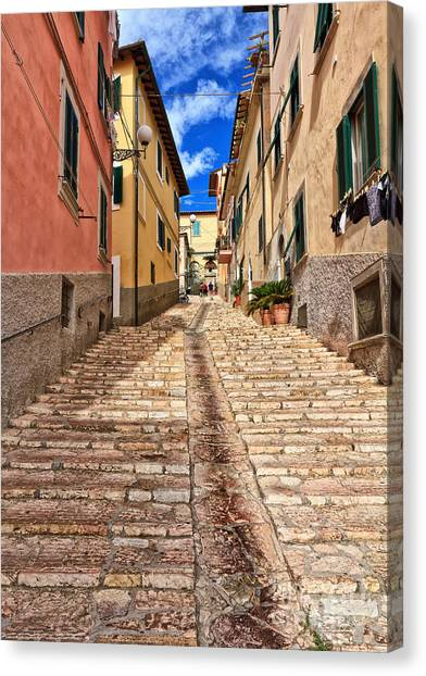 Portoferraio - Isle Of Elba Canvas Print