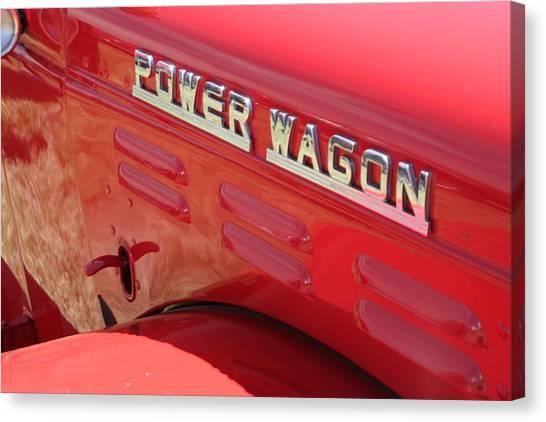 Power Wagon Canvas Print