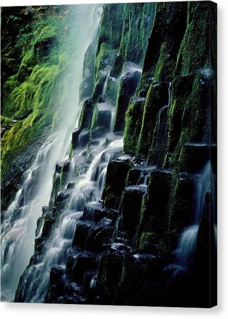 90128 Proxy Falls Canvas Print