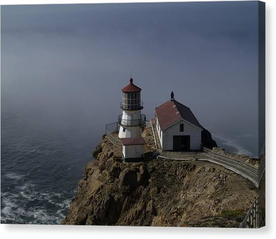 Pt Reyes Lighthouse Canvas Print