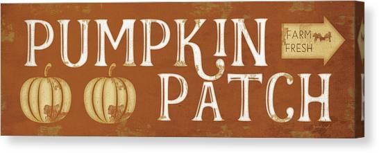 Pumpkin Patch Canvas Print - Pumpkin Patch by Jennifer Pugh