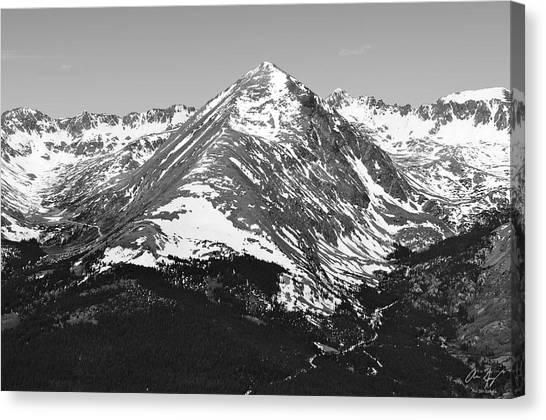 Quandary Peak Canvas Print