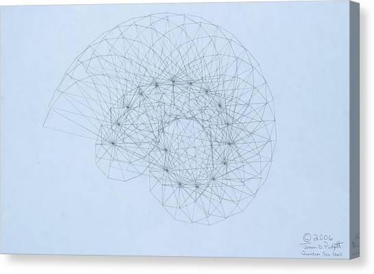 Quantum Nautilus Canvas Print