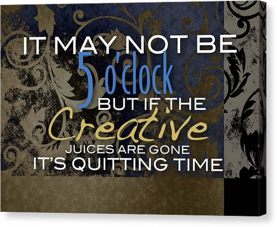 Quitting Time Canvas Print