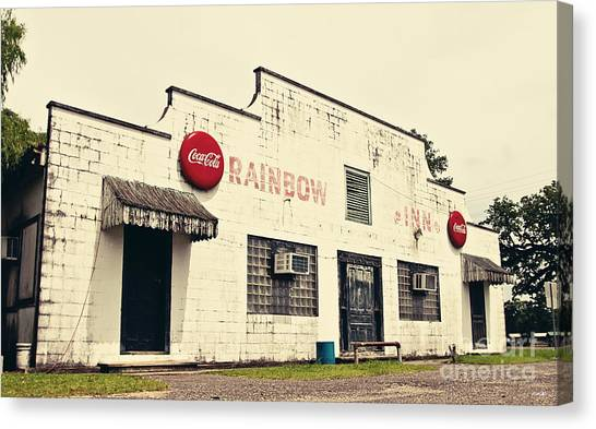 Atchafalaya Basin Canvas Print - Rainbow Inn by Scott Pellegrin