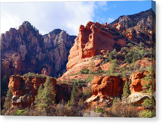 Red Rock Country Landscapes Canvas Print