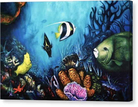 Reef Dwellers Canvas Print