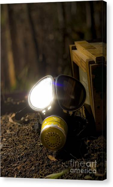 Biohazard Canvas Print - Reflection Of War by Jorgo Photography - Wall Art Gallery