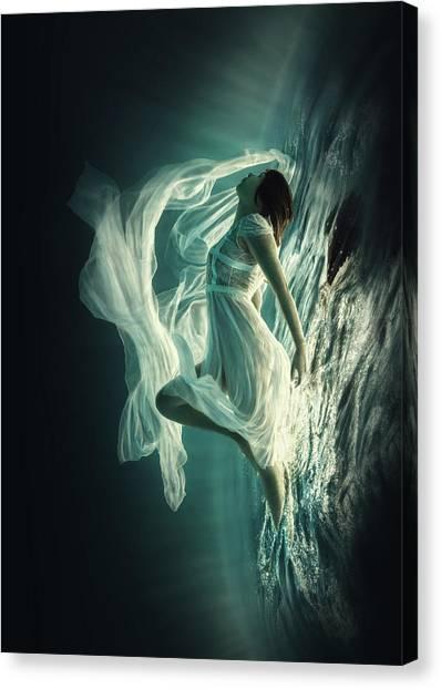 Dress Canvas Print - Renaissance by Dmitry Laudin