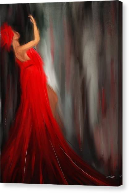 Artemis Canvas Print - Resonating Admiration by Lourry Legarde