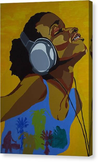 Rhythms In The Sun Canvas Print