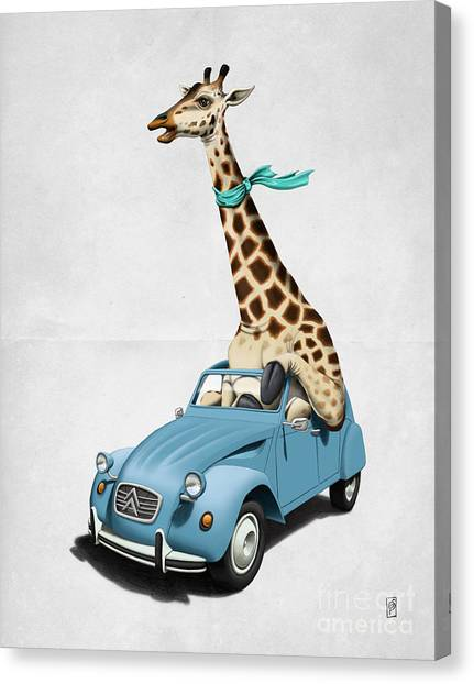 Riding High Wordless Canvas Print