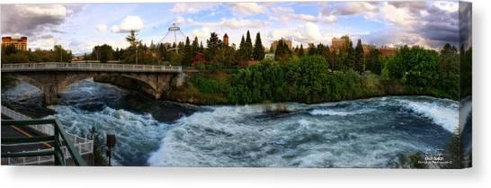Riverflow Canvas Print by Dan Quam