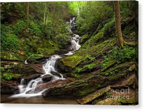 Roaring Fork Falls Canvas Print
