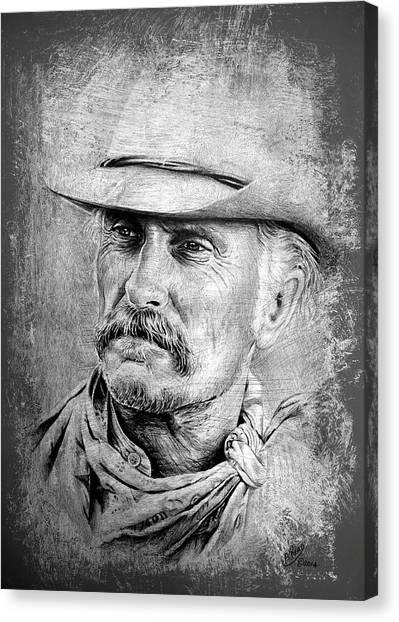 Robert Duvall Canvas Print