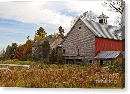 Rural View Canvas Print