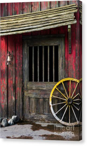 Rustic Canvas Print - Rural Wertern by Carlos Caetano