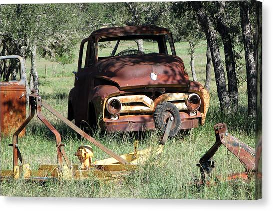 Rust In Peace No. 2 Canvas Print