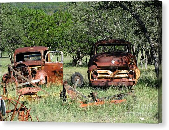 Rust In Peace No. 3 Canvas Print