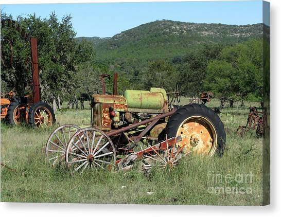 Rust In Peace No. 4 Canvas Print