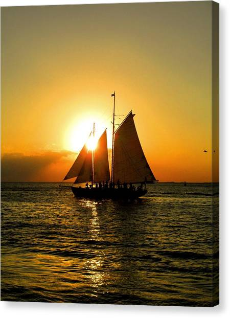 Sailors Dream Canvas Print