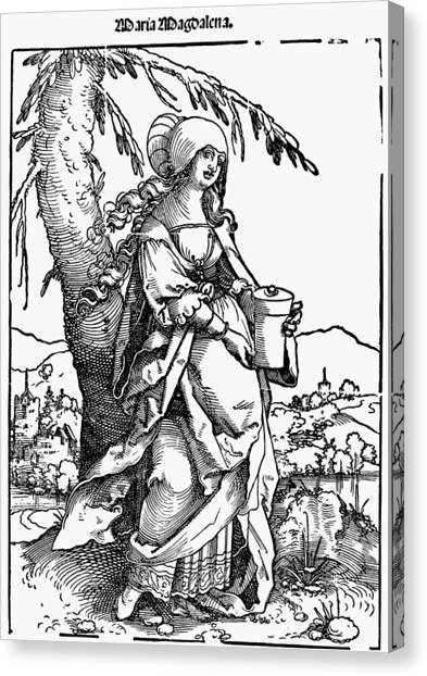 Saint Mary Magdalene Canvas Print by Granger