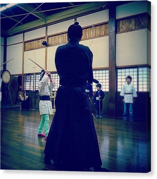 Samurai Canvas Print - #samurai ( #侍 ) Class @ #edo ( by Kenichi Iwai