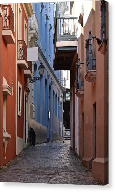 San Francisco Chapel Alley Canvas Print