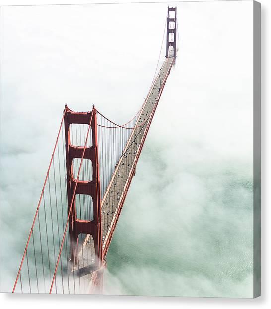 San Francisco Golden Gate Bridge Canvas Print by Franckreporter