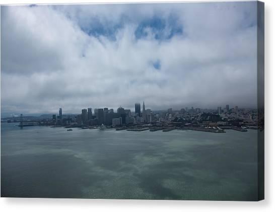 San Francisco Skyline Canvas Print by Steven Lapkin