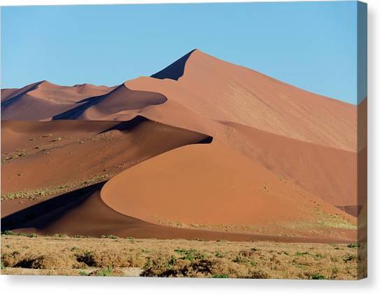 Namib Desert Canvas Print - Sand Dunes, Sossusvlei, Namib Desert by Panoramic Images