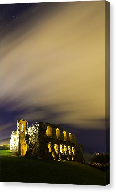 Sandsfoot Castle  Canvas Print by Ollie Taylor