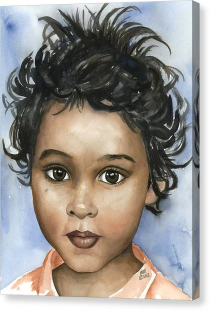 Sani Canvas Print