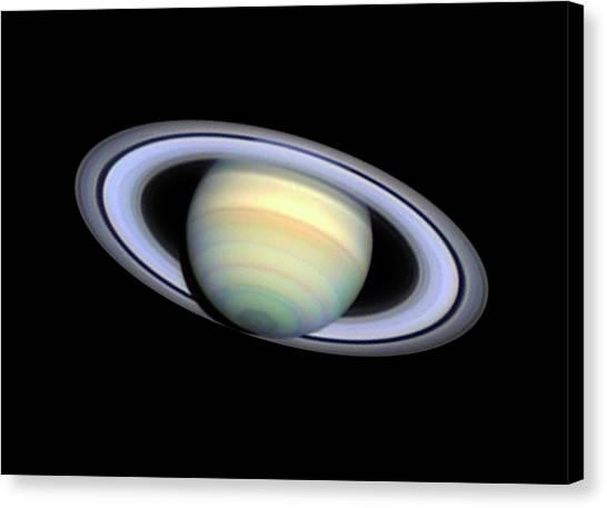 Saturn Canvas Print - Saturn by Damian Peach