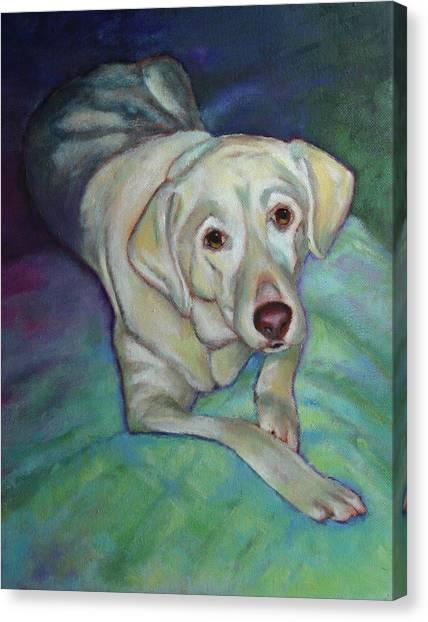 Savannah The Dog Canvas Print