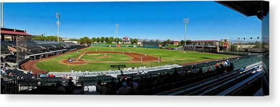 Scottsdale Stadium Canvas Print