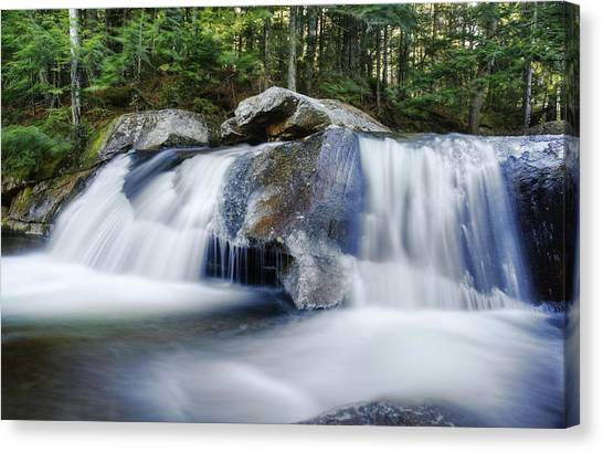 Screw Auger Falls Canvas Print