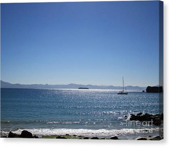 Sea In Tarifa Canvas Print